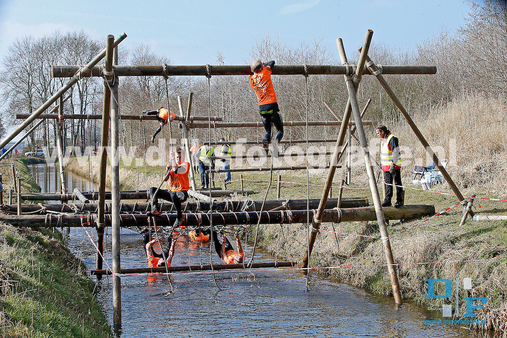 KOOTSTERTILLE , 13-03-2016 , Survival Run 2016 , sfeerbeeld van de Survival Run 2016<br /> <br /> foto: Henk Jan Dijks