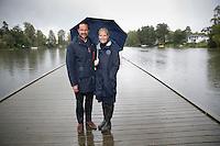 OPPEGÅRD, 20150915: Kronprinsparets fylkestur i Akershus hvor Kronprins Haakon og Kronprinsesse Mette-Marit besøker Oppegård. FOTO: TOM HANSEN