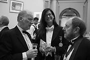 FIONA BANNER, RICHARD WILSON, RA Annual dinner 2018. Piccadilly, 5 June 2018.