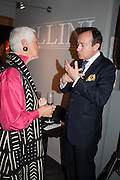 JILL BREMER; SIMON HEWITT, Charity Gala Reception in aid of the Neuroblastoma Society, Bada Antiques and Fine art Fair. Duke of York Sq.  Sloane Sq. London. 19 March 2014.