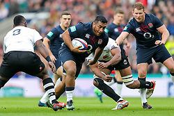 Mako Vunipola of England in action - Rogan Thomson/JMP - 19/11/2016 - RUGBY UNION - Twickenham Stadium - London, England - England Rugby v Fiji - Old Mutual Wealth Series.