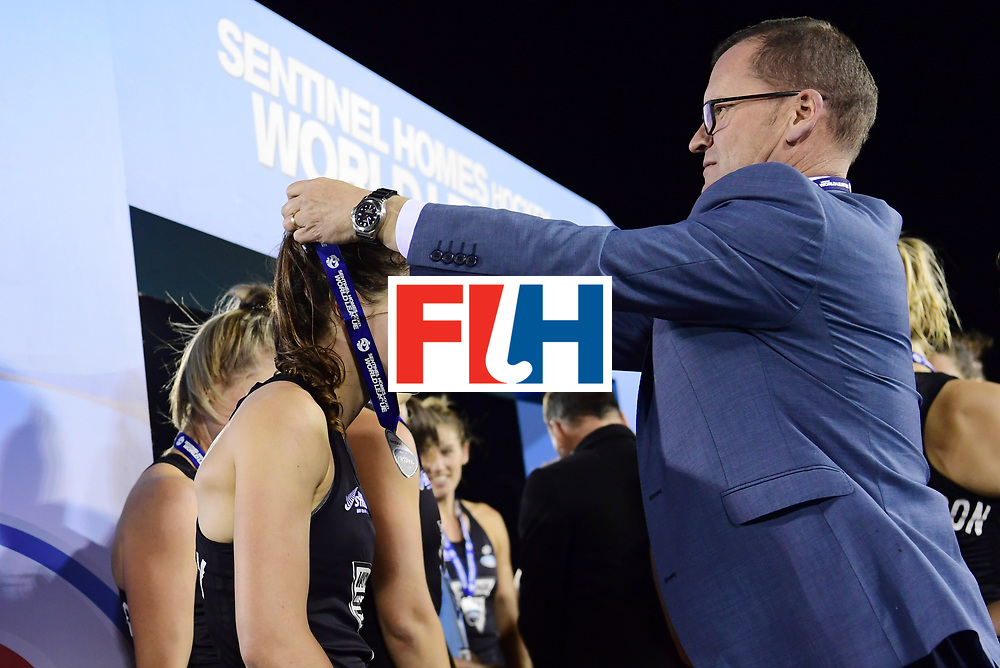 AUCKLAND - Sentinel Hockey World League final women<br /> Match id:10322<br /> Ceremonie<br /> Foto: Ceo Jason McCracken<br /> WORLDSPORTPICS COPYRIGHT FRANK UIJLENBROEK