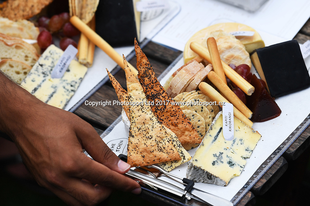 Corporate box platters for lunch at the ASB Classic. WTA Womens Tournament. ASB Tennis Centre, Auckland, New Zealand. Tuesday 3 January 2017. © Copyright photo: Andrew Cornaga / www.photosport.nz