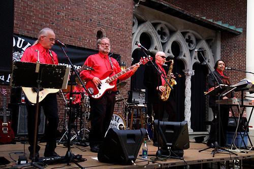 Soul Express performs during Vectren's Jazz & Beyond at the Dayton Art Institute, Thursday, June 7, 2012.