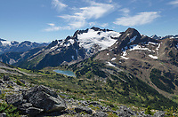 Cayoosh Mountain elevation: 2561 meters, 8402 feet, Coast Mountains British Columbia