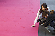 Feb. 24, 2016 - Los Angeles, California, U.S - <br /> <br /> Media members cover the preparation for the Oscars in front of the Dolby Theatre in Los Angeles, Wednesday, February 24, 2016. The 88th Academy Awards will be held Sunday, February 28, 2016<br /> ©Exclusivepix Media