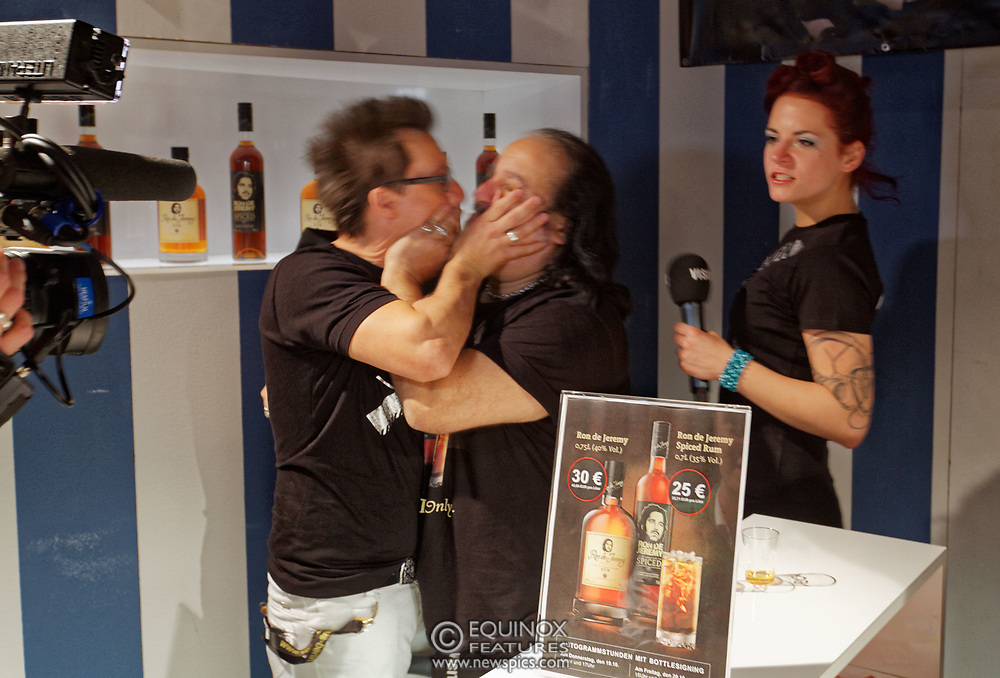 Berlin, Germany - 18 October 2012<br /> Porn star Ron Jeremy promoting his 'Ron Jeremy' brand of rum at the Venus Berlin 2012 adult industry exhibition in Berlin, Germany. Ron Jeremy, born Ronald Jeremy Hyatt, has been an American pornographic actor since 1979. He faces sexual assault allegations which he strenuously denies. There is no suggestion that any of the people in these pictures have made any such allegations.<br /> www.newspics.com/#!/contact<br /> (photo by: EQUINOXFEATURES.COM)<br /> Picture Data:<br /> Photographer: Equinox Features<br /> Copyright: &copy;2012 Equinox Licensing Ltd. +448700 780000<br /> Contact: Equinox Features<br /> Date Taken: 20121018<br /> Time Taken: 12374059