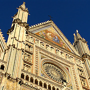 Duomo of Orvieto, Italy, Romanesque-Gothic cathedral