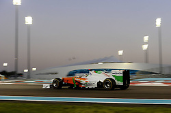 12.11.2011, Yas-Marina-Circuit, Abu Dhabi, UAE, Grosser Preis von Abu Dhabi, im Bild Adrian Sutil (GER), Force India Formula One Team  // during the Formula One Championships 2011 Large price of Abu Dhabi held at the Yas-Marina-Circuit, 2011/11/12. EXPA Pictures © 2011, PhotoCredit: EXPA/ nph/ Dieter Mathis..***** ATTENTION - OUT OF GER, CRO *****