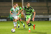 Forest Green Rovers Christian Doidge(9) runs forward during the EFL Sky Bet League 2 match between Yeovil Town and Forest Green Rovers at Huish Park, Yeovil, England on 24 April 2018. Picture by Shane Healey.