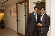 AARON CESAR; DEBOTTAM BOSE; , Dinner to celebrate the 10th Anniversary of Contemporary Istanbul Hosted at the Residence of Freda & Izak Uziyel, London. 23 June 2015