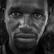 Guinea Bissau chicos que se embarcaron en un viaje a Europa, pero sin suerte.