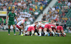 - Photo mandatory by-line: Alex James/JMP - 07966 386802 - 06/09/2014 - SPORT - RUGBY UNION - London, England - Twickenham Stadium - Saracens v Wasps - Aviva Premiership London Double Header.