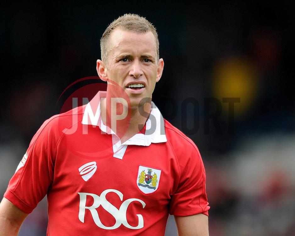 Bristol City's Aaron Wilbraham - Photo mandatory by-line: Dougie Allward/JMP - Mobile: 07966 386802 23/08/2014 - SPORT - FOOTBALL - Manchester - Spotland Stadium - Rochdale AFC v Bristol City - Sky Bet League One