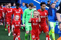 Bristol City enter Amex Stadium - Mandatory by-line: Jason Brown/JMP - 29/04/2017 - FOOTBALL - Amex Stadium - Brighton, England - Brighton and Hove Albion v Bristol City - Sky Bet Championship