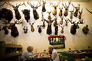 Dining at Foster's Bighorn in Rio Vista, Calif., October 20, 2009.