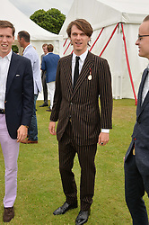 TARA FERRY at the Cartier Queen's Cup Polo final at Guard's Polo Club, Smiths Lawn, Windsor Great Park, Egham, Surrey on 14th June 2015