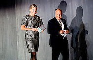 26-9-2016 KATWIJK - Queen Maxima attends Monday September 26 2016 in TheaterHangaar Katwijk in the Future of Finance conference at FMO, the Dutch Finance Company Ontwikkelingslanden.De conference focuses on gaining new insights and exchange of knowledge and experiences in the field of inclusive finance in developing countries ROBIN UTRECHT 26-9-2016 KATWIJK - Koningin Maxima woont maandagochtend 26 september 2016 in de TheaterHangaar in Katwijk de Future of Finance conferentie bij van FMO, de Nederlandse Financieringsmaatschappij voor Ontwikkelingslanden.De conferentie richt zich op het verkrijgen van nieuwe inzichten en het uitwisselen van kennis en ervaringen op het gebied van inclusieve financiering in ontwikkelingslanden ROBIN UTRECHT