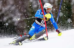 THALER Patrick of Italy competes during the 1st Run of 10th Men's Slalom - Pokal Vitranc 2013 of FIS Alpine Ski World Cup 2012/2013, on March 10, 2013 in Vitranc, Kranjska Gora, Slovenia. (Photo By Vid Ponikvar / Sportida.com)