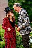 DOORN - Ellen ten Damme<br /> Zangeres en Vincent Bijlo<br /> Cabaretier ANP ROBIN UTRECHT<br /> PLUS