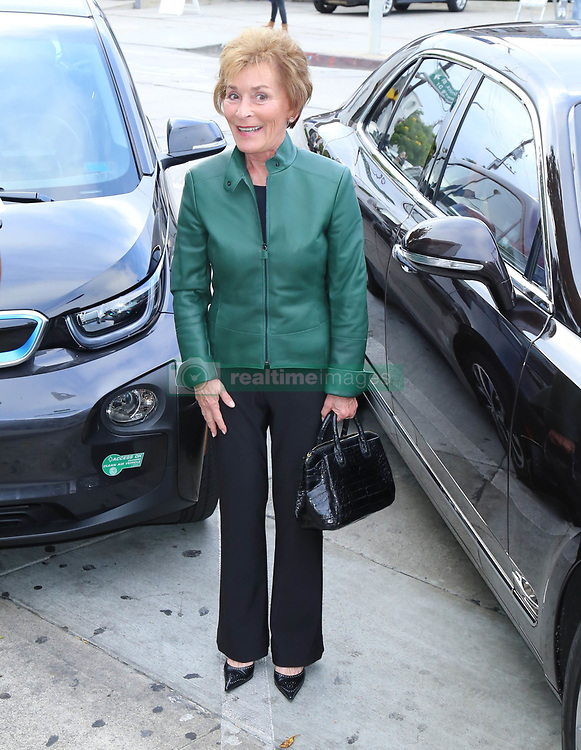 Judge Judy Sheindlin is seen in West Hollywood, CA.