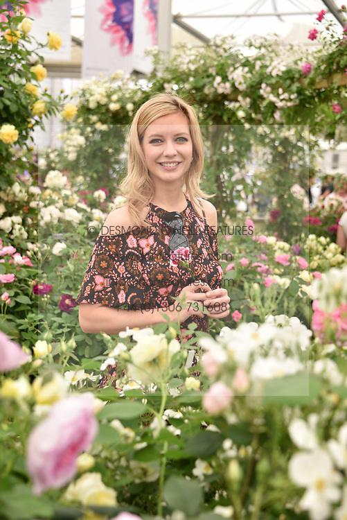 Rachel Riley at the RHS Chelsea Flower Show Press Day, Royal Hospital Chelsea, London England. 22 May 2017.<br /> Photo by Dominic O'Neill/SilverHub 0203 174 1069 sales@silverhubmedia.com