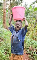 A village boy in Sipi Valley