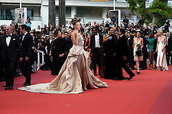 May 22, 2019 - Cannes, France - 72eme Festival International du Film de Cannes. Montée des marches du film ''Roubaix, une lumiere (Oh Mercy!)''. 72th International Cannes Film Festival. Red Carpet for ''Roubaix, une lumiere (Oh Merci!)'' movie.....239728 2019-05-22  Cannes France.. Poly, Natasha (Credit Image: © L.Urman/Starface via ZUMA Press)