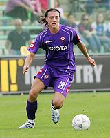 Firenze 01/10/2006<br /> Campionato Italiano Serie A 2006/07<br /> Fiorentina-Catania 3-0<br /> Montolivo Riccardo Fiorentina<br /> Foto Luca Pagliaricci Inside<br /> www.insidefoto.com