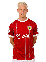 Hordur Magnusson of Bristol City  - Mandatory by-line: Matt McNulty/JMP - 01/08/2017 - FOOTBALL - Ashton Gate - Bristol, England - Bristol City Headshots
