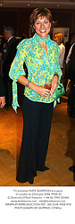 TV presenter KATE SILVERTON at a party in London on 22nd June 2004.PWK 93