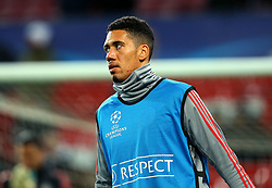 Chris Smalling of Manchester United - Mandatory by-line: Robbie Stephenson/JMP - 13/03/2018 - FOOTBALL - Old Trafford - Manchester, England - Manchester United v Sevilla - UEFA Champions League Round of 16 2nd Leg