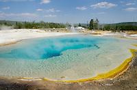 Sapphire Pool, Black Sand Basin, Yellowstone National Park