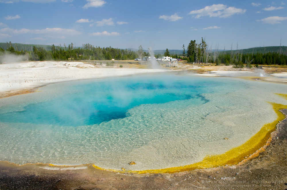 Sapphire Pool, Black Sand Basin, Yellowstone National Park