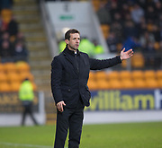 30th December 2017, McDiarmid Park, Perth, Scotland; Scottish Premiership football, St Johnstone versus Dundee; Dundee manager Neil McCann