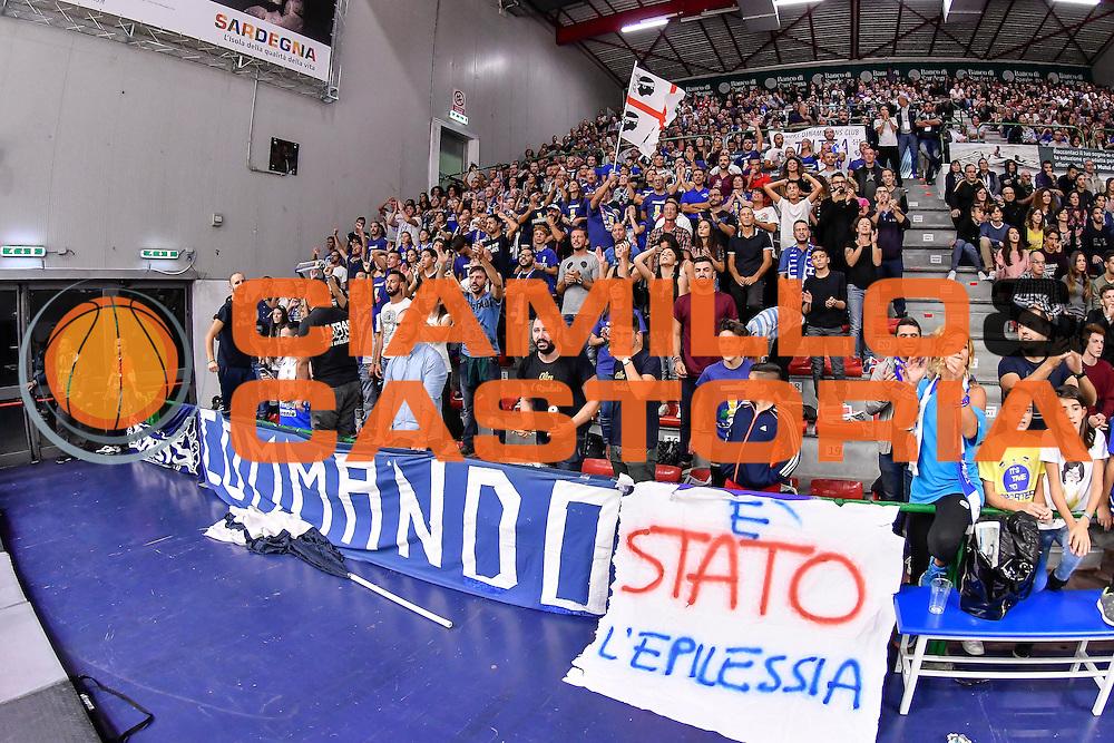 Commando Ultra' Dinamo<br /> Dinamo Banco di Sardegna Sassari - Germani Basket Brescia Leonessa<br /> Lega Basket Seire A 2016/2017<br /> Sassari 15/10/2016<br /> Foto Ciamillo-Castoria