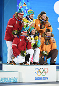 Luge, Doubles - Medal Ceremony