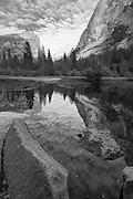 Mirror Lake views, Yosemite National Park, California, Sierra Nevada Mountains, October, 2010