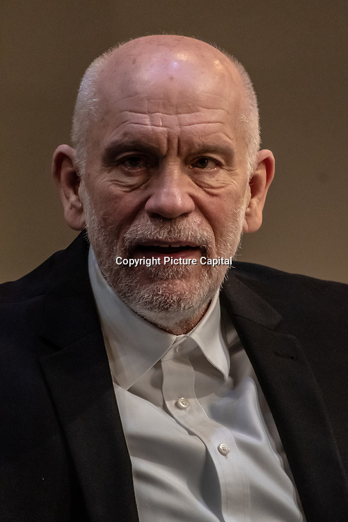 John Malkovich photoc all at Bitter Wheat production shoot at Garrick Theatre on 13 June 2019, London, UK.