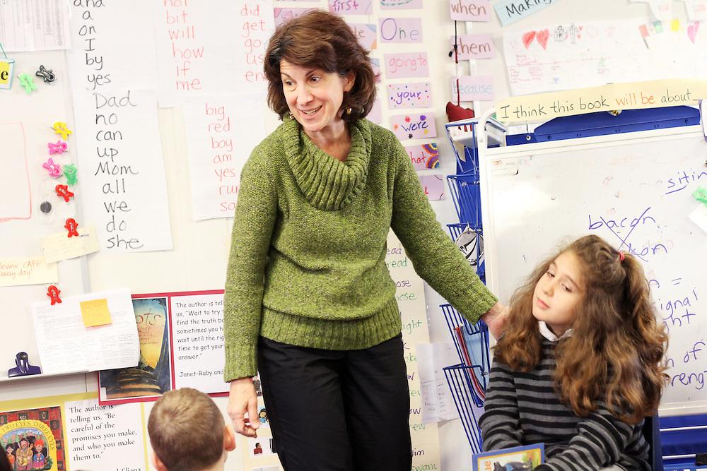Janice Scudder teaches fourth-graders at Washington Elementary School in Woodburn on Thursday, Dec. 1, 2011.