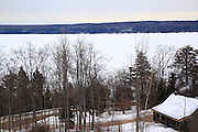 I just liked the feeling I got from the wood smoke coming out of this little house on Munising Bay at the dawn of this very chilly winter morning.