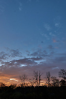 Autumn Sunrise Panorama. Six of seven images taken with a Leica CL camera and 18 mm f/2.8 lens (ISO 200, 18 mm, f/11, 1/60 sec).