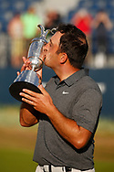 Francesco Molinari<br /> <br /> With the trophy after winning