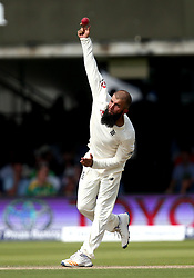 Moeen Ali of England bowls to South Africa - Mandatory by-line: Robbie Stephenson/JMP - 07/07/2017 - CRICKET - Lords - London, United Kingdom - England v South Africa - Investec Test Series