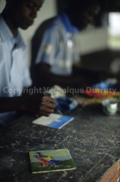 POTO POTO ART SCHOOL, BRAZZAVILLE, CONGO