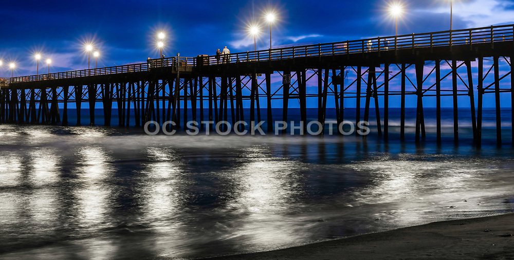 Early Evening At The Oceanside Pier