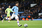 Manchester City midfielder David Silva (21) during the Champions League match between Manchester City and Dinamo Zagreb at the Etihad Stadium, Manchester, England on 1 October 2019.