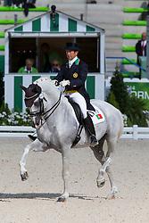Carlos Pinto, (POR), Soberano III - Grand Prix Team Competition Dressage - Alltech FEI World Equestrian Games™ 2014 - Normandy, France.<br /> © Hippo Foto Team - Leanjo de Koster<br /> 25/06/14