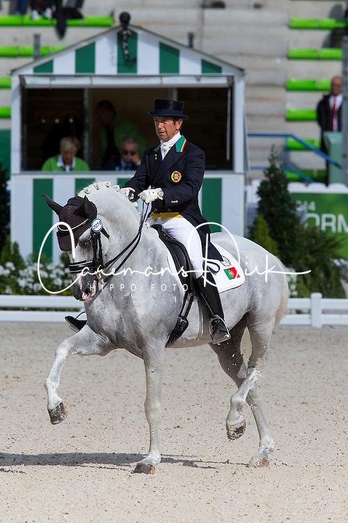 Carlos Pinto, (POR), Soberano III - Grand Prix Team Competition Dressage - Alltech FEI World Equestrian Games&trade; 2014 - Normandy, France.<br /> &copy; Hippo Foto Team - Leanjo de Koster<br /> 25/06/14