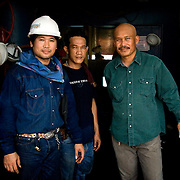 Thai Welders aboard Dubai Lay Barge, UAE